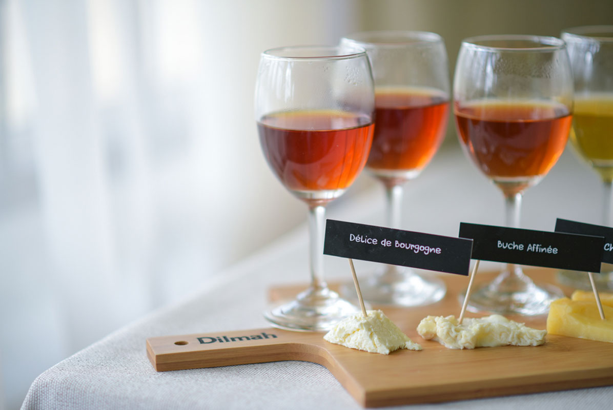 Tea & cheese pairing by Betty Koster