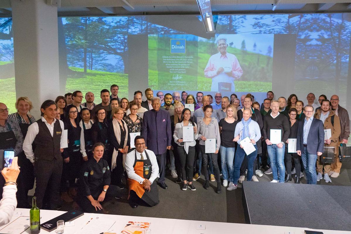 Dilmah Tea Masterclass Stockholm, Sweden – 2018