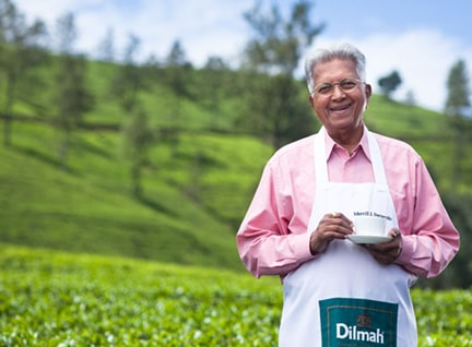 Dilmah established by Merrill J. Fernando in 1988