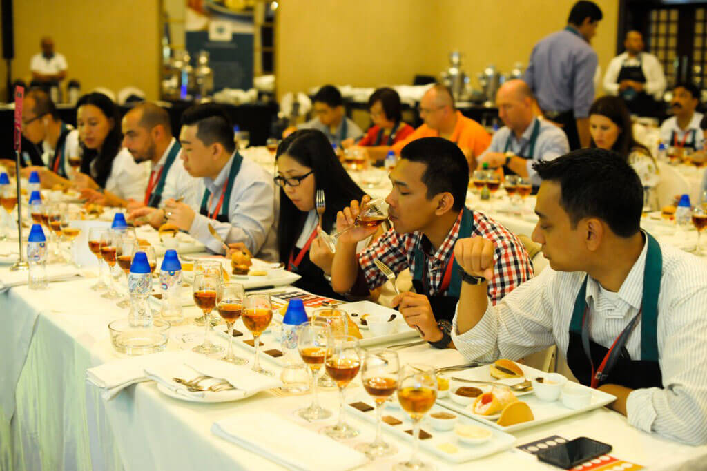 Dilmah School of Tea 2015, Sri Lanka - Session 2 - Classroom Sessions - Food Pairing with different Elevation-2