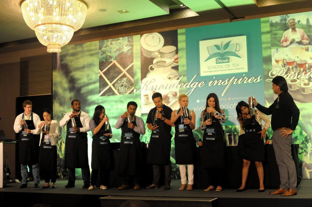 Dilmah School of Tea 2015, Sri Lanka - Session 2 - Classroom Sessions - Tea Mixology with Robert Schinkel - 2