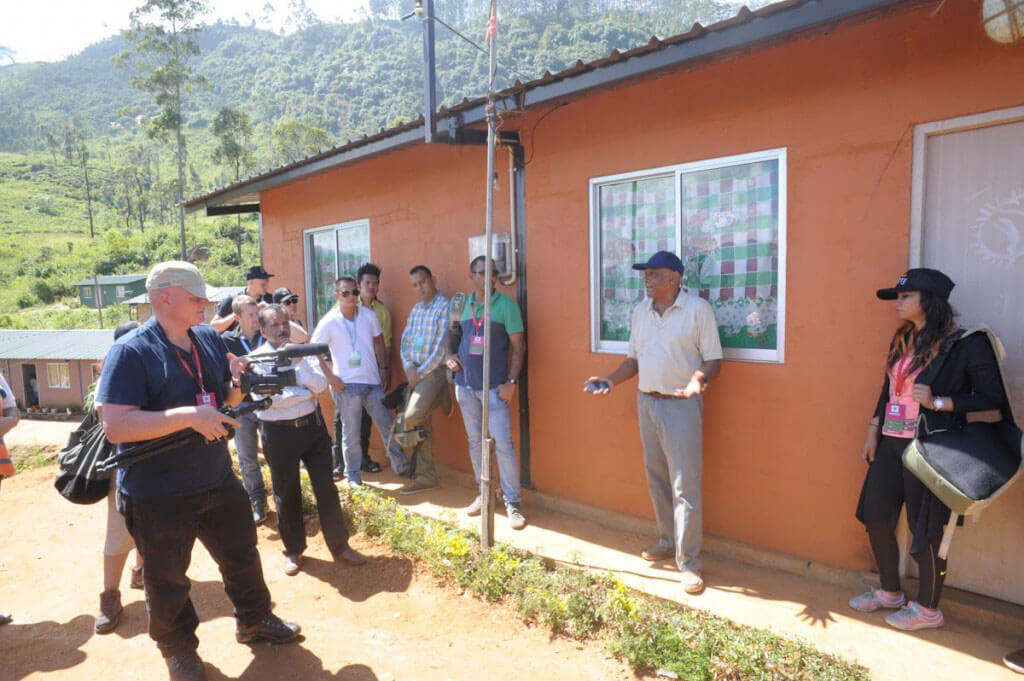 Dilmah School of Tea 2015, Sri Lanka - Session 2 - Visit to Dunkeld Estate - 02