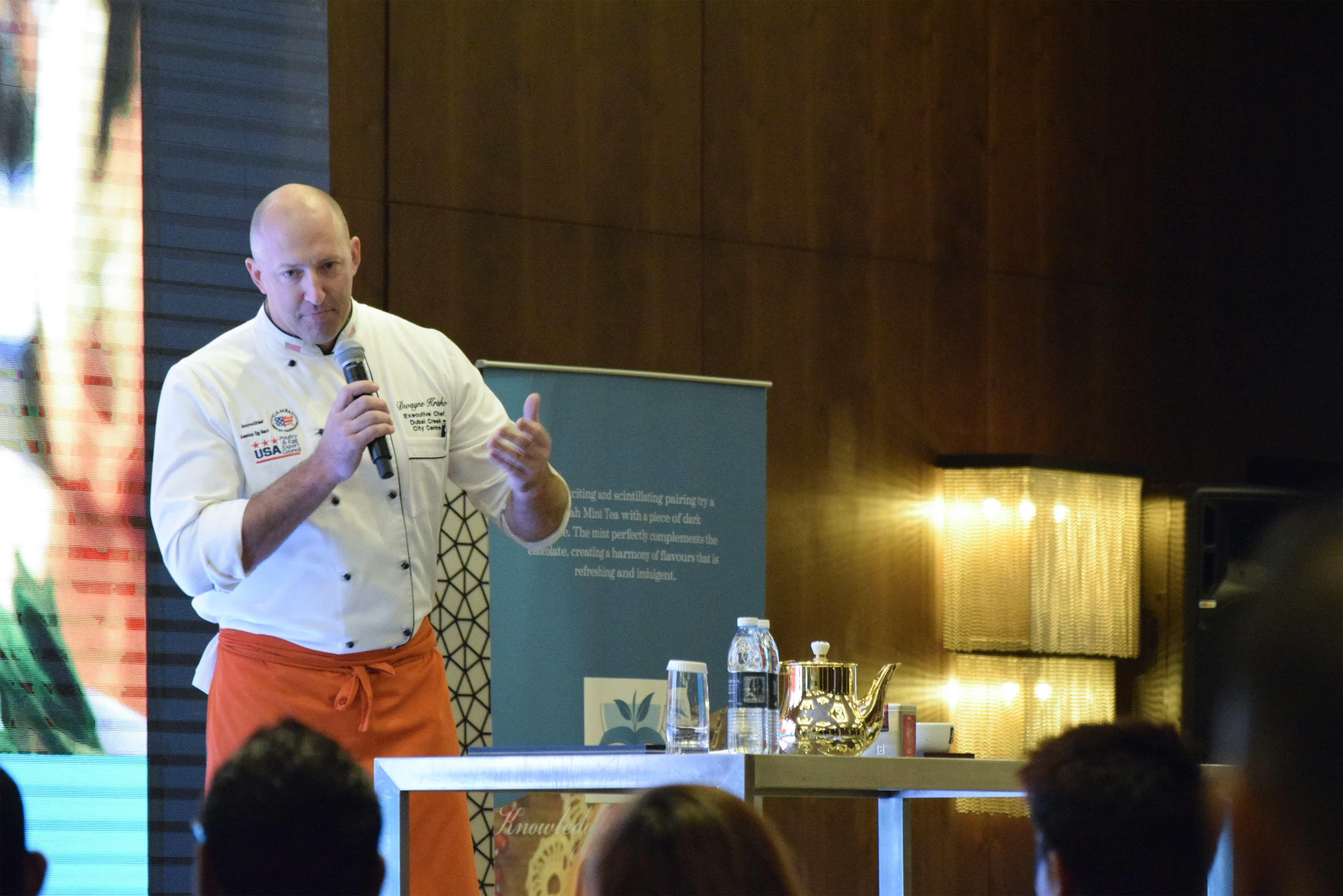 Chef Dwayne – Ex. Chef of Pullman Hotel Dubai sharing his tea experience