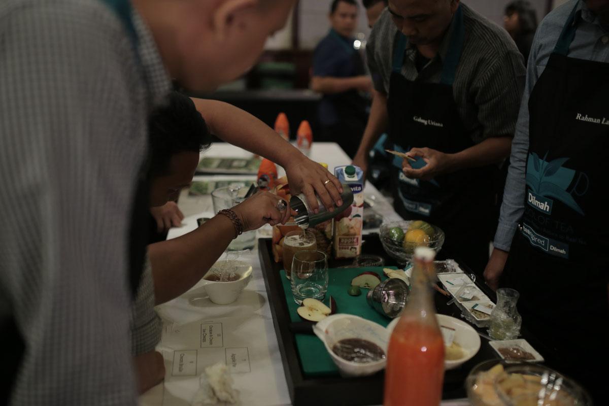 Tea & Mixology practical session