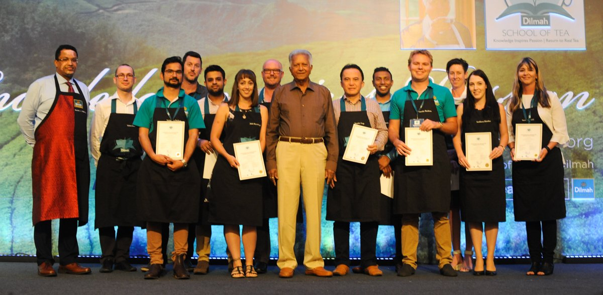 Dilmah School of Tea 2017 -  Certificate Presentation