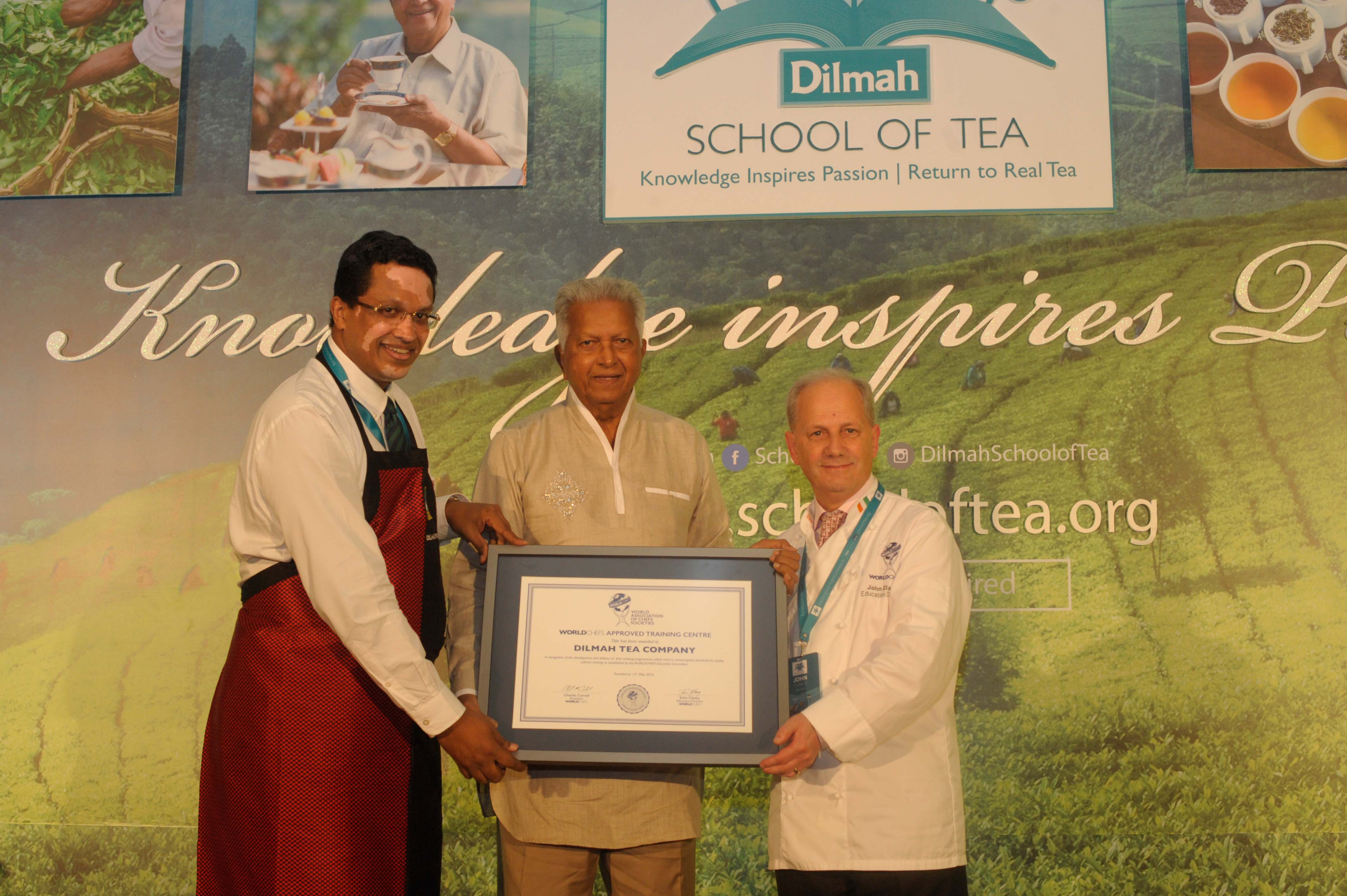 Dilmah School of Tea May 2016 - Day 5 - Certificate Presentation