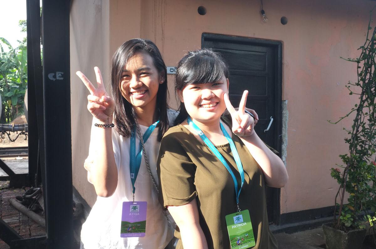 Atiqa & Patricia from Singapore