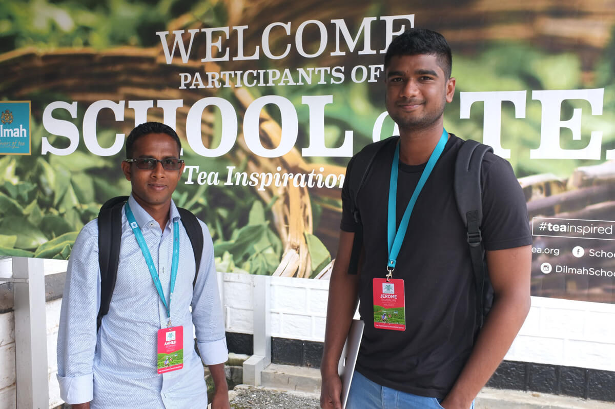 ( Left to right ) Ahmed & Jerome from Maldives