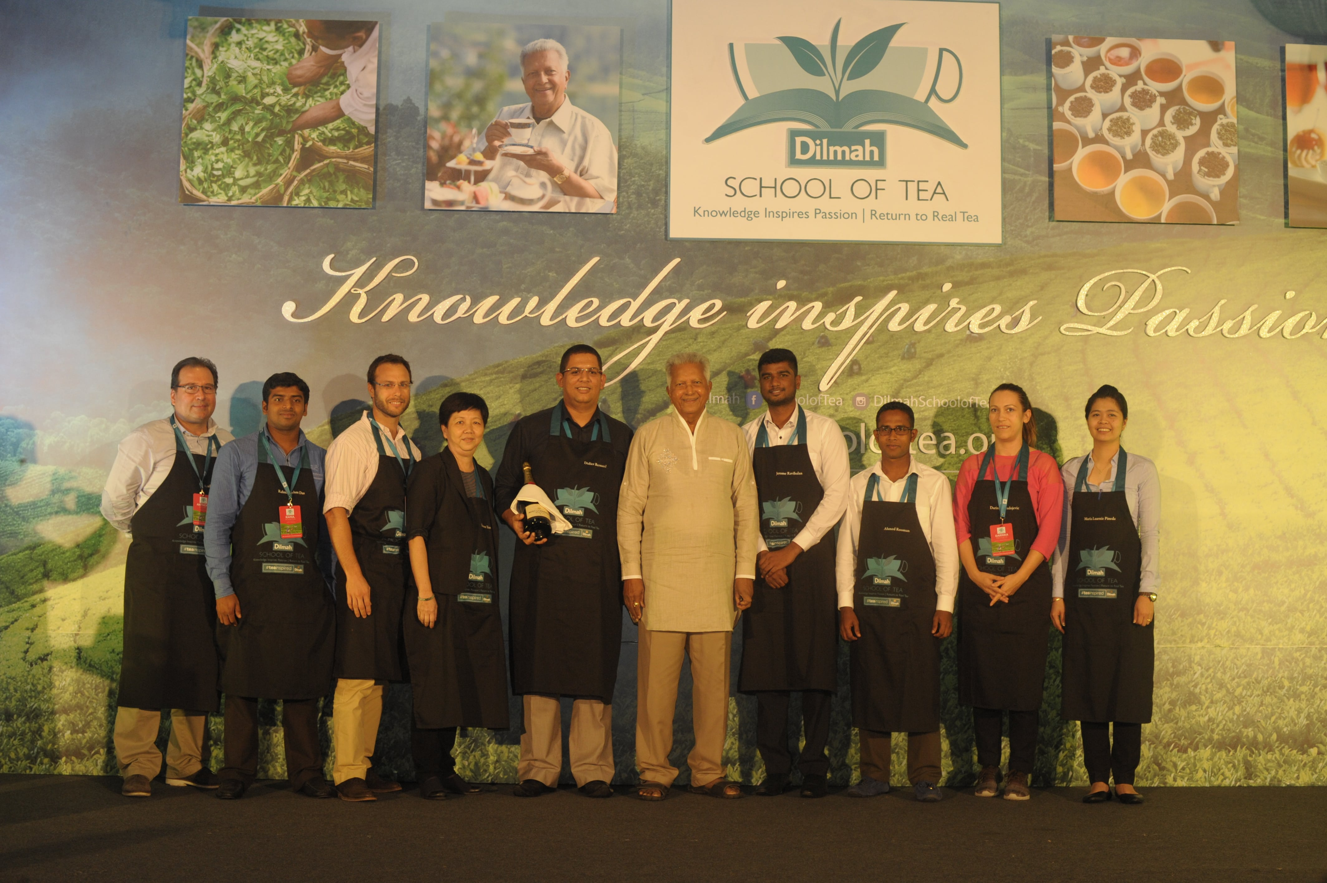 Winners of Tea inspired beverage competition - The Teamaker's Private Reserve team