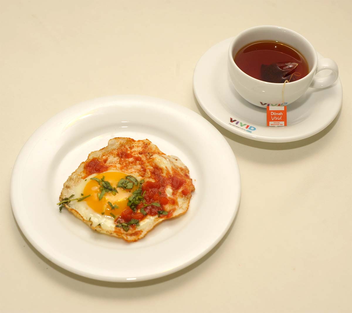 Ceylon Breakfast with Zhe Jiang Omelette