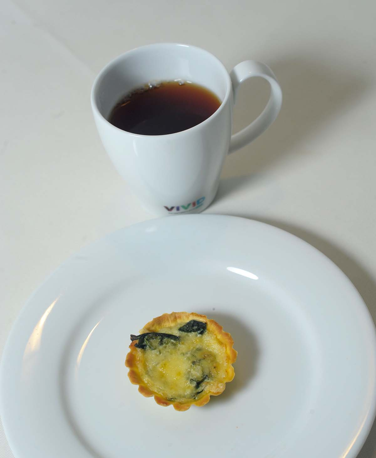 Ceylon Breakfast with Spinach pie