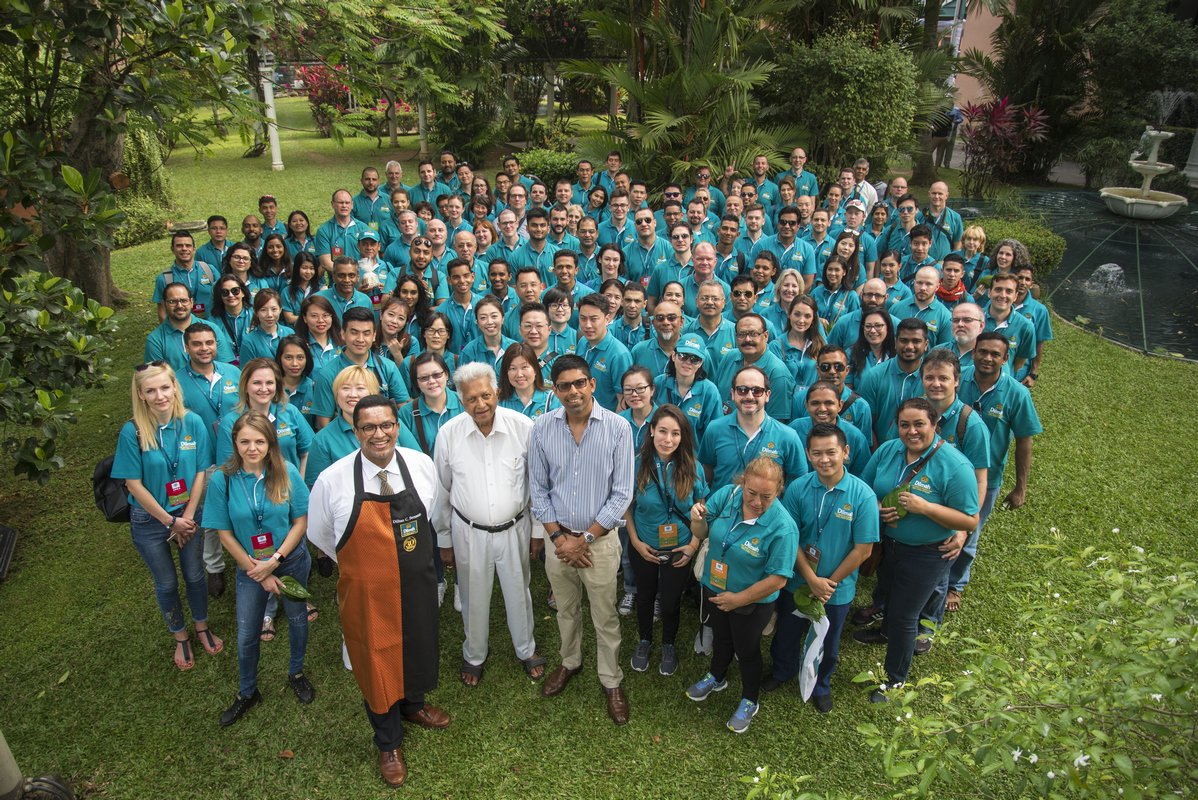 64th Batch at Home of Dilmah