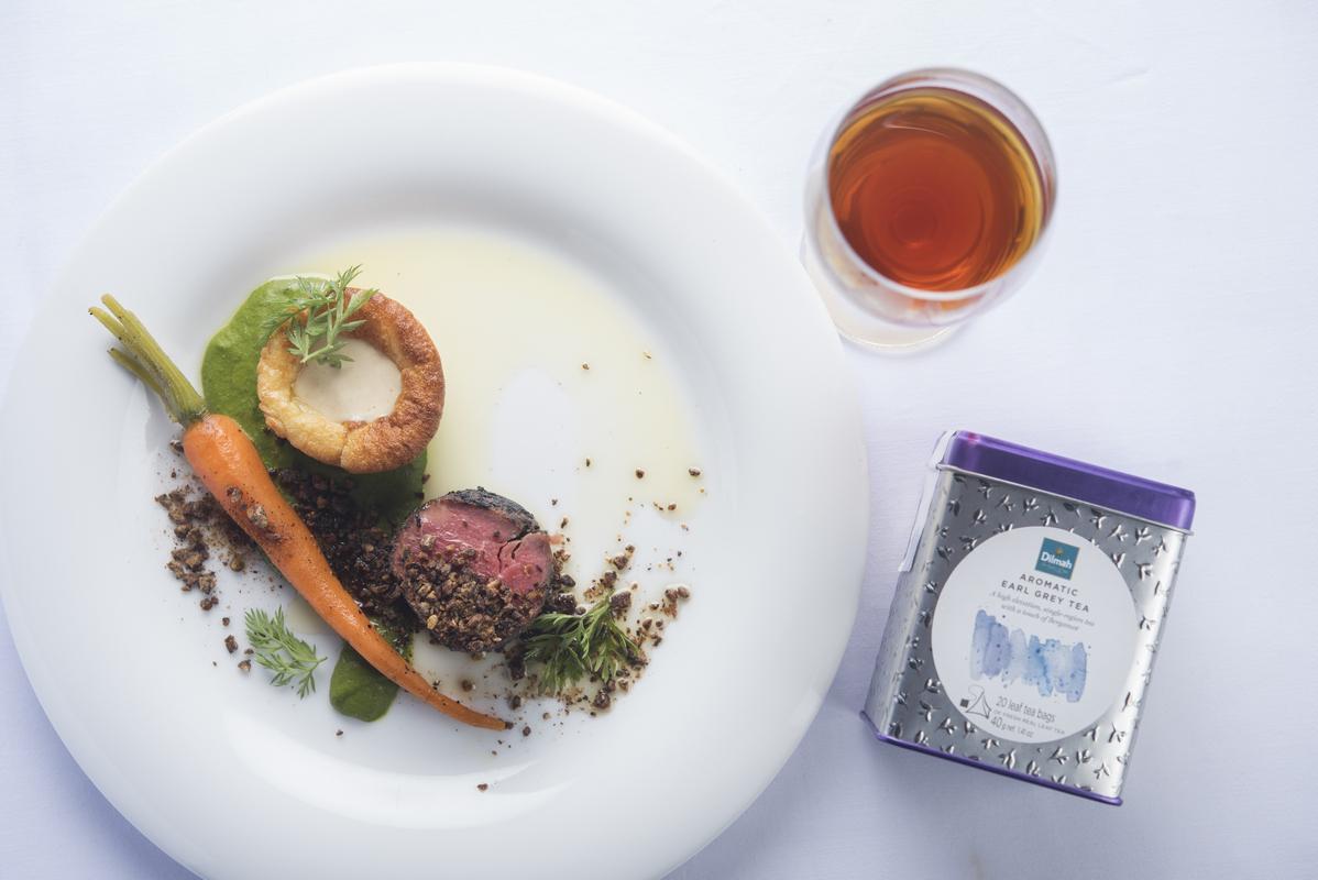 Tea inspired dinner – main course