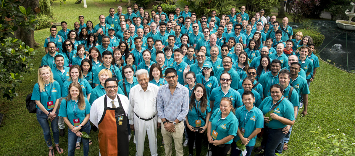 Dilmah School of Tea - 2017 - 150 Professionals, 32 Countries, One Destination, One Passion