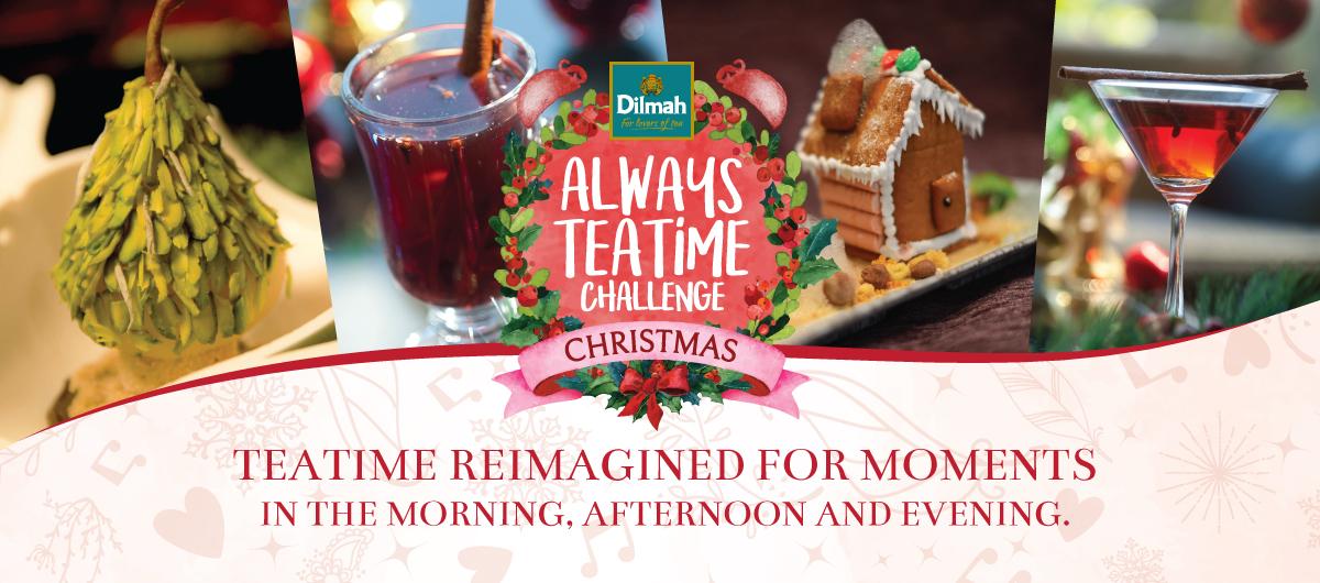 Dilmah Always Teatime Challenge 2017 - Christmas Edition