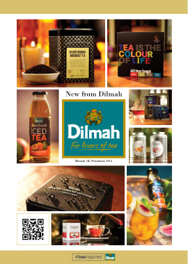 New From Dilmah, November 2015
