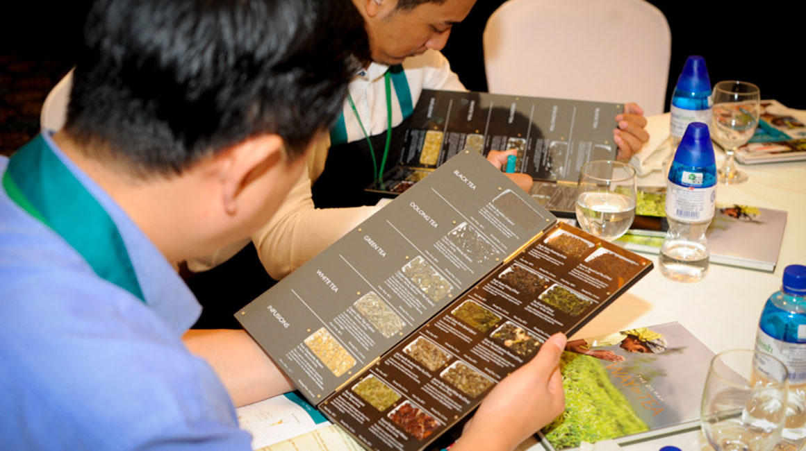Dilmah School of Tea 2016, Bangkok, Thailand.