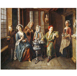 1636 - Tea being famous in France