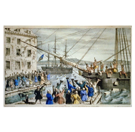 1773 - Boston Tea Party