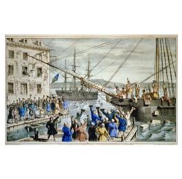 1773 - Boston Tea Party