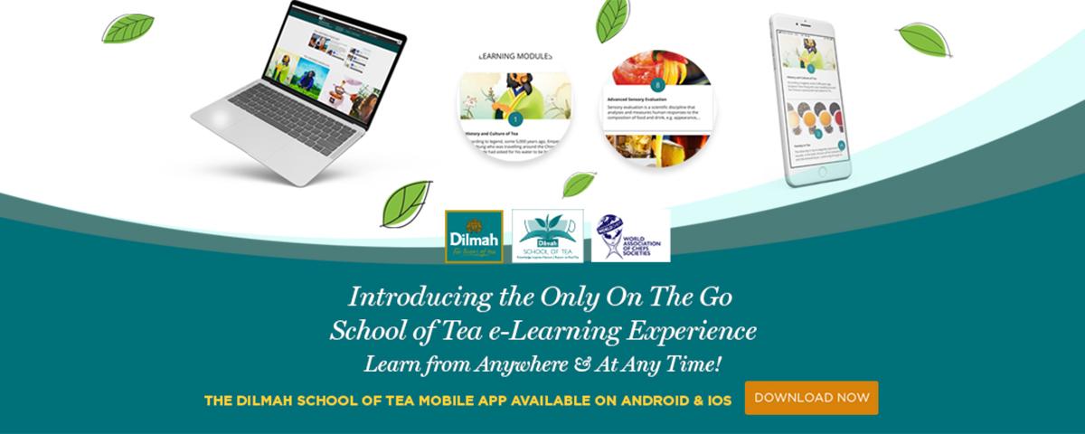 Dilmah School of Tea Mobile App