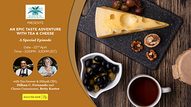 Special Episode : An Epic Taste Adventure with Tea & Cheese