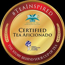 WorldChefs Accredited Digitised Tea Aficionado Badge & Certificate